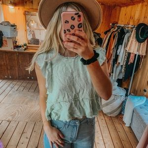 MAEVE ANTHROPOLOGY TOP